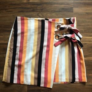 NWOT Urban Outfitters Striped Mini Skirt